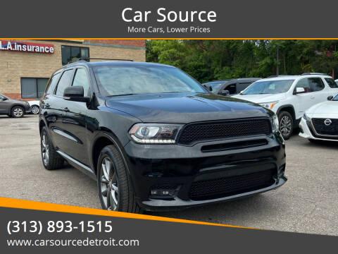 2017 Dodge Durango for sale at Car Source in Detroit MI