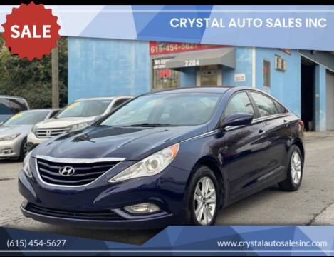2013 Hyundai Sonata for sale at Crystal Auto Sales Inc in Nashville TN