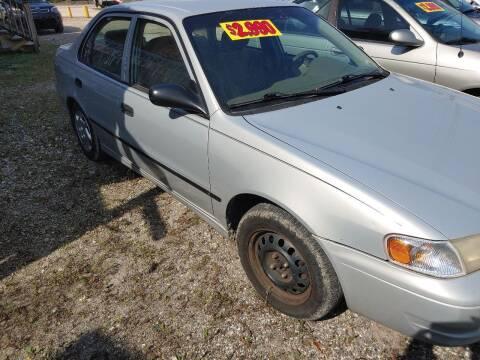 1999 Toyota Corolla for sale at Finish Line Auto LLC in Luling LA