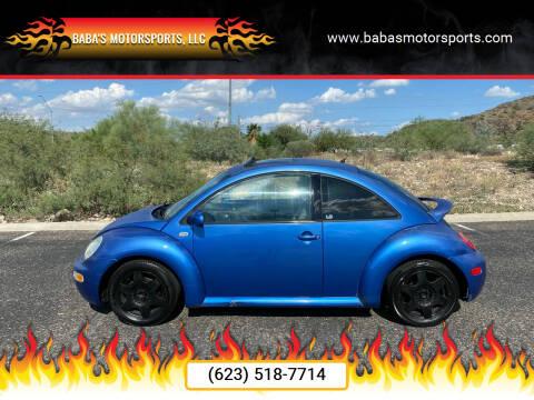 2001 Volkswagen New Beetle for sale at Baba's Motorsports, LLC in Phoenix AZ