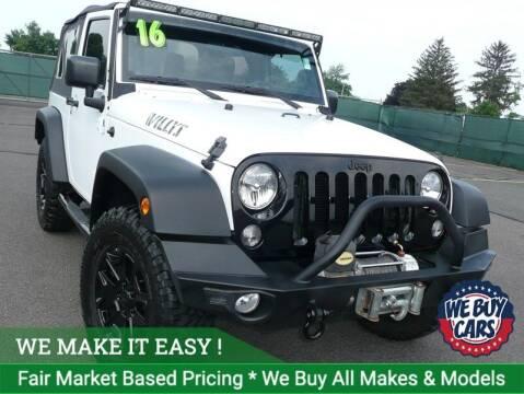 2016 Jeep Wrangler for sale at Shamrock Motors in East Windsor CT