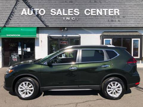 2018 Nissan Rogue for sale at Auto Sales Center Inc in Holyoke MA