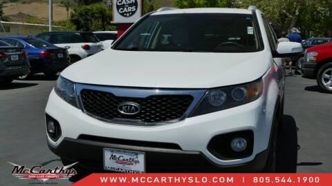 2013 Kia Sorento for sale at McCarthy Wholesale in San Luis Obispo CA
