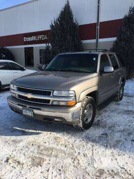 2003 Chevrolet Tahoe for sale at Specialty Auto Wholesalers Inc in Eden Prairie MN