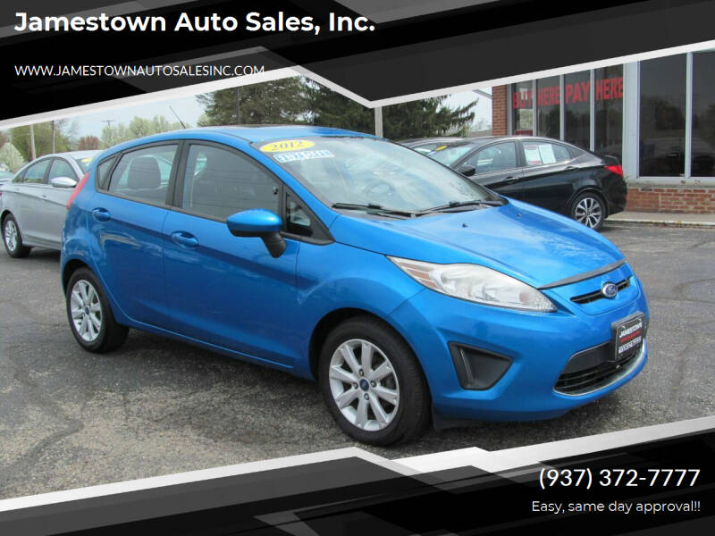 2012 Ford Fiesta for sale at Jamestown Auto Sales, Inc. in Xenia OH