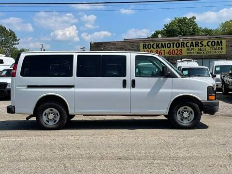 2009 Chevrolet Express Passenger for sale at ROCK MOTORCARS LLC in Boston Heights OH