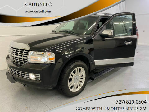 2012 Lincoln Navigator for sale at X Auto LLC in Pinellas Park FL