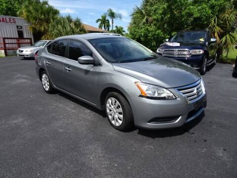 2013 Nissan Sentra for sale at DONNY MILLS AUTO SALES in Largo FL