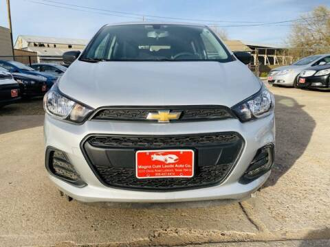2016 Chevrolet Spark for sale at MAGNA CUM LAUDE AUTO COMPANY in Lubbock TX