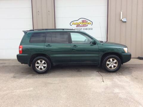 2003 Toyota Highlander for sale at The AutoFinance Center in Rochester MN