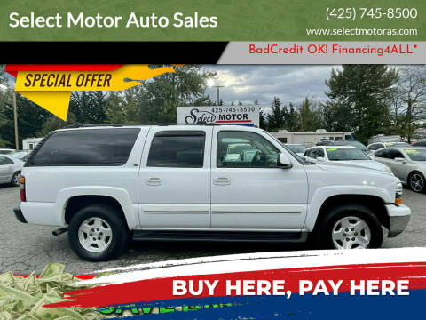 2004 Chevrolet Suburban for sale at Select Motor Auto Sales in Lynnwood WA