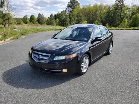 2007 Acura TL for sale at Apex Autos Inc. in Fredericksburg VA