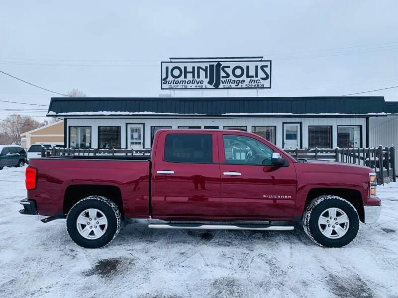 2014 Chevrolet Silverado 1500 for sale at John Solis Automotive Village in Idaho Falls ID