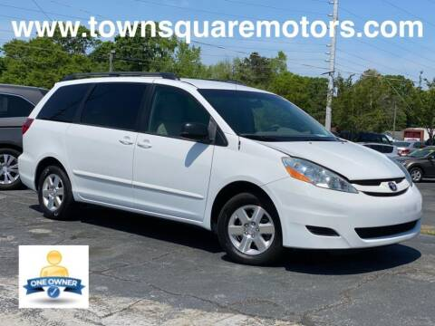 2010 Toyota Sienna for sale at Town Square Motors in Lawrenceville GA