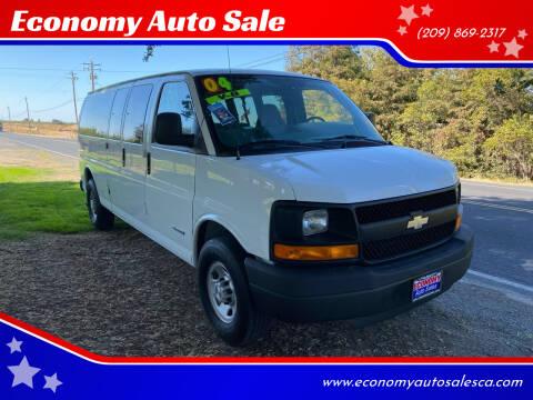2004 Chevrolet Express Passenger for sale at Economy Auto Sale in Modesto CA