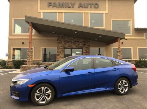 2017 Honda Civic for sale at Moses Lake Family Auto Center in Moses Lake WA