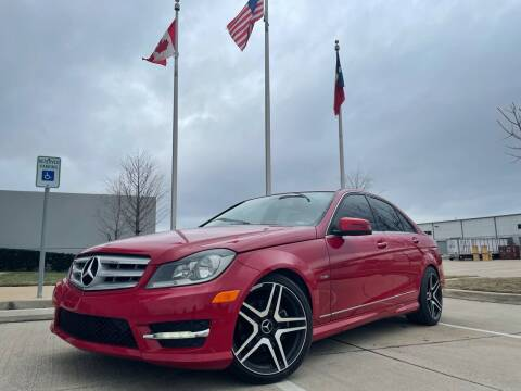 2012 Mercedes-Benz C-Class for sale at TWIN CITY MOTORS in Houston TX