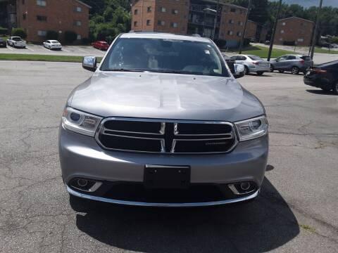 2014 Dodge Durango for sale at Auto Villa in Danville VA