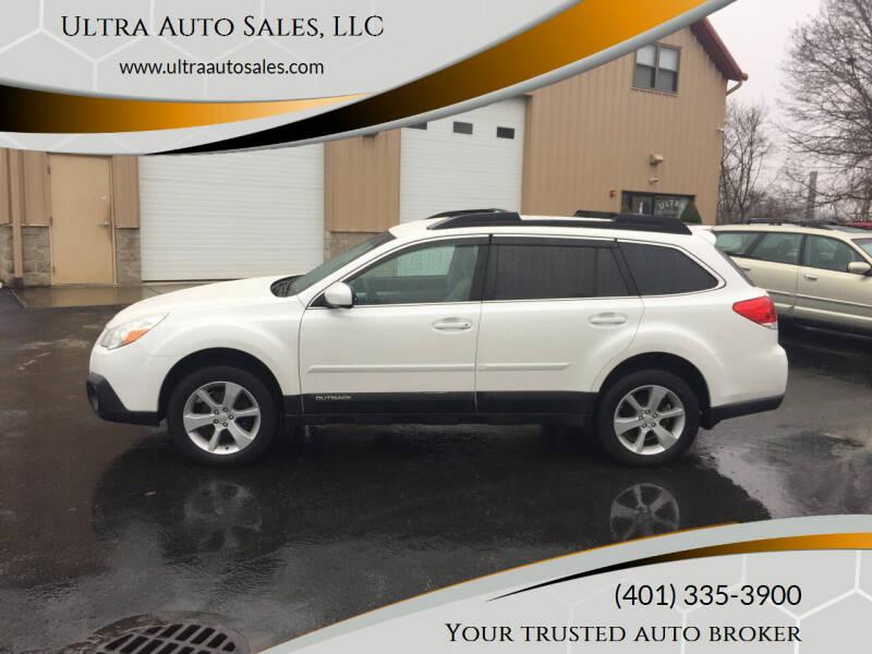 2013 Subaru Outback for sale at Ultra Auto Sales, LLC in Cumberland RI