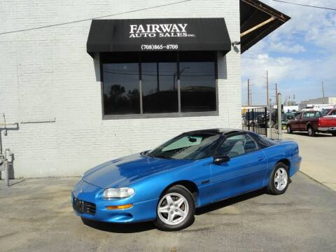 1999 Chevrolet Camaro for sale at FAIRWAY AUTO SALES, INC. in Melrose Park IL