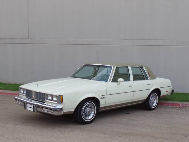 1981 Oldsmobile Cutlass Supreme for sale at CROWN AUTOPLEX in Arlington TX