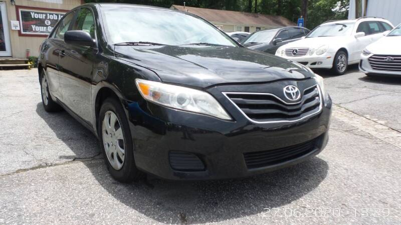 2010 Toyota Camry 4dr Sedan 6A - Roswell GA