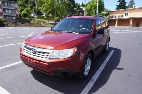 2012 Subaru Forester for sale at Precision Motors LLC in Renton WA
