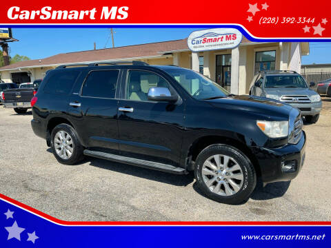 2008 Toyota Sequoia for sale at CarSmart MS in Diberville MS