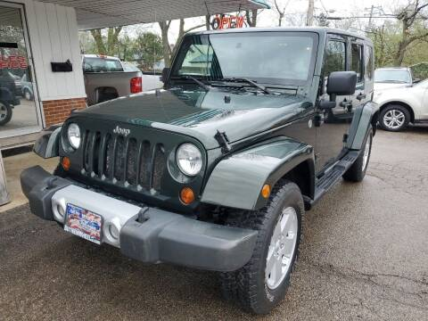 2010 Jeep Wrangler Unlimited for sale at New Wheels in Glendale Heights IL