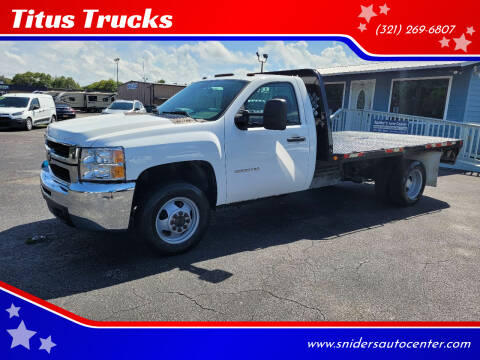 2010 Chevrolet Silverado 3500HD CC for sale at Titus Trucks in Titusville FL