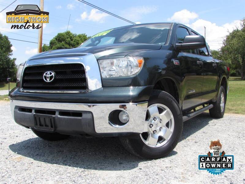 2008 Toyota Tundra for sale at High-Thom Motors in Thomasville NC