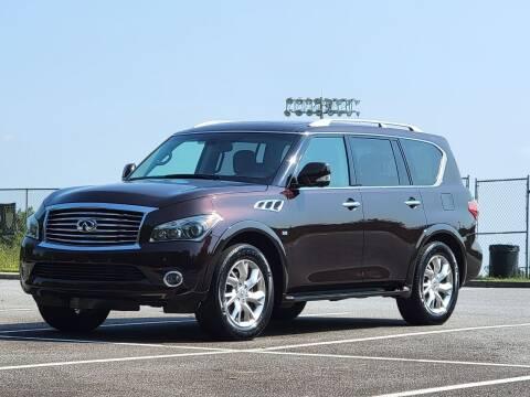 2014 Infiniti QX80 for sale at United Auto Gallery in Suwanee GA
