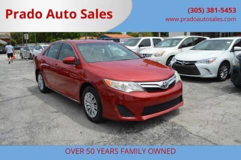 2013 Toyota Camry for sale at Prado Auto Sales in Miami FL