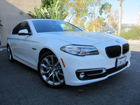 2014 BMW 5 Series for sale at ORANGE COUNTY AUTO WHOLESALE in Irvine CA