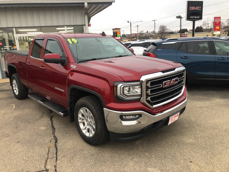 2019 GMC Sierra 1500 Limited for sale at ROTMAN MOTOR CO in Maquoketa IA