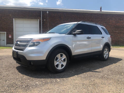 2013 Ford Explorer for sale at Jim's Hometown Auto Sales LLC in Byesville OH