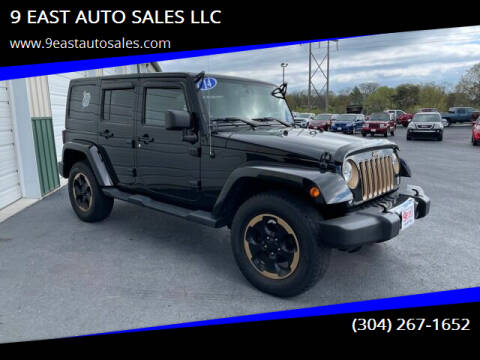 2014 Jeep Wrangler Unlimited for sale at 9 EAST AUTO SALES LLC in Martinsburg WV