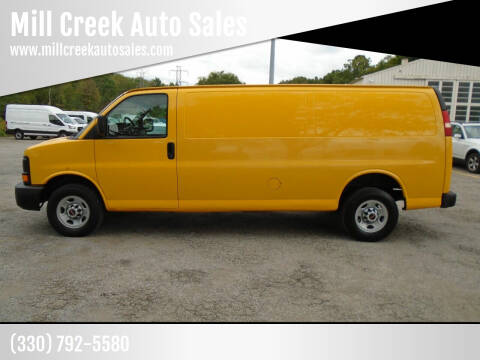 2010 GMC Savana Cargo for sale at Mill Creek Auto Sales in Youngstown OH