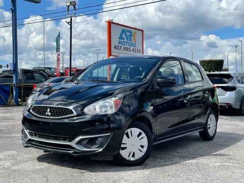 2017 Mitsubishi Mirage for sale at Ark Motors in Orlando FL
