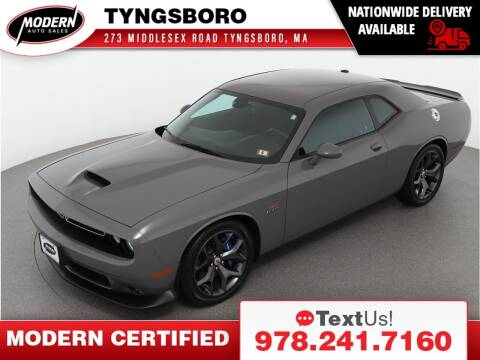 2019 Dodge Challenger for sale at Modern Auto Sales in Tyngsboro MA