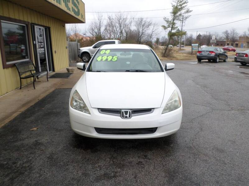 2004 Honda Accord for sale at Credit Cars of NWA in Bentonville AR