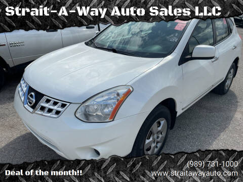 2013 Nissan Rogue for sale at Strait-A-Way Auto Sales LLC in Gaylord MI