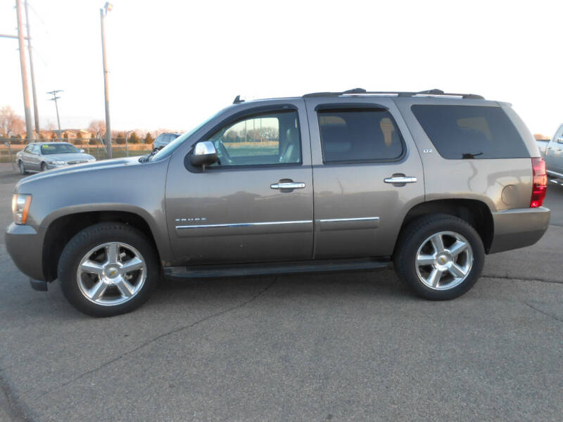 2011 Chevrolet Tahoe for sale at Salmon Automotive Inc. in Tracy MN