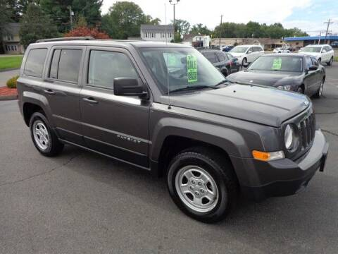2016 Jeep Patriot for sale at BETTER BUYS AUTO INC in East Windsor CT