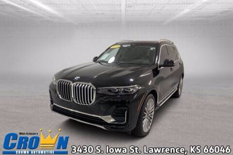 2019 BMW X7 for sale at Crown Automotive of Lawrence Kansas in Lawrence KS