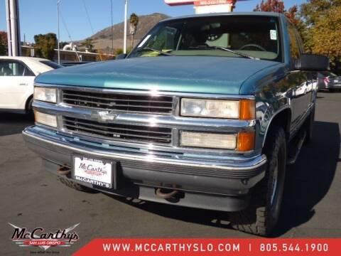 1997 Chevrolet C/K 1500 Series for sale at McCarthy Wholesale in San Luis Obispo CA