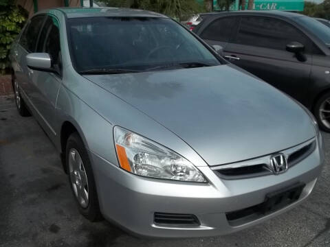 2007 Honda Accord for sale at PJ's Auto World Inc in Clearwater FL