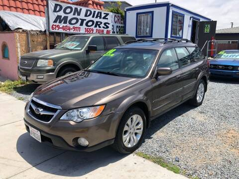 2008 Subaru Outback for sale at DON DIAZ MOTORS in San Diego CA