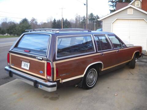 1984 Ford LTD Crown Victoria for sale at Whitmore Motors in Ashland OH