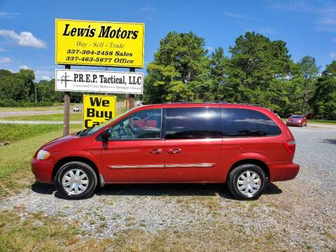 2005 Chrysler Town and Country for sale at Lewis Motors LLC in Deridder LA